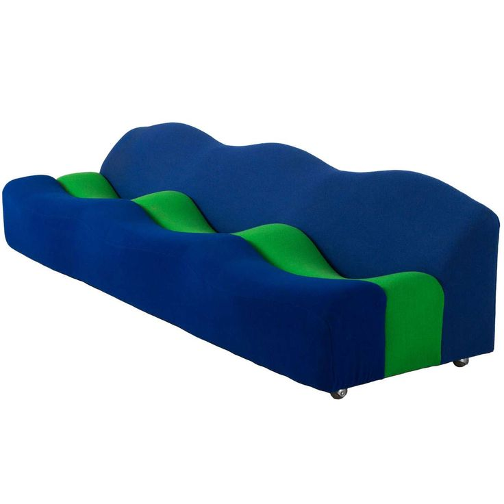 Ble and Green Unique Design of Abcd Sofa ~ http://www.lookmyhomes.com/unique-design-of-abcd-sofa-for-living-room/