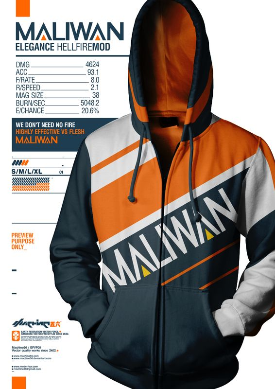borderlands 2 hoodie maliwan. I am literally going to buy this. -NJohnson.