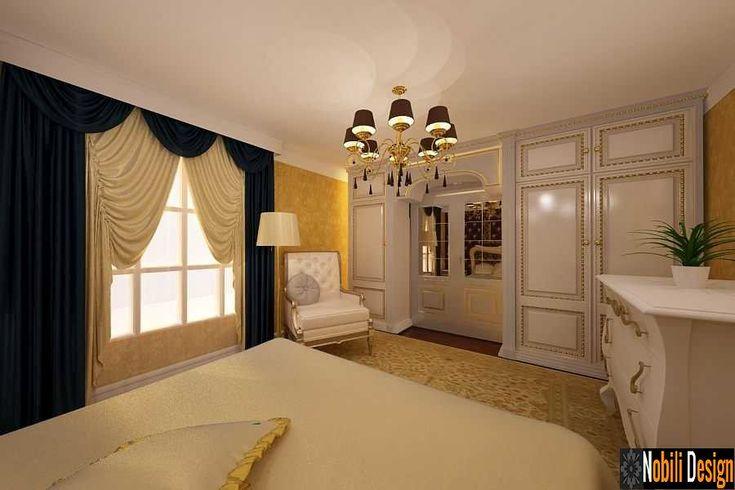 Design interior dormitor clasic Bucuresti
