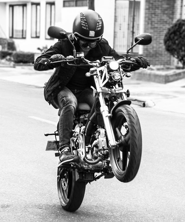 """""""I Ride!!! . . . #photography #photooftheday #photoshoot #sessions #photosession #motorcycle #streetstyle #streetphotography #blackandwhite #blackandwithephotography #BW #speed #instafollow #man #canon"""" by @phoscamera. #capture #pictures #pic #exposure #photos #snapshot #picture #composition #pics #moment #focus #all_shots #color #foto #photograph #fotografia #photographyeveryday #photoart #ig_shutterbugs #photogram #photodaily #instaphotography #photographylovers #grow #dedication…"""