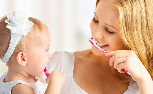 Baby Oral Care - How to Brush Your Baby's Gums and Teeth | How We RIE http://reviewscircle.com/health-fitness/dental-health/natural-teeth-whitening/