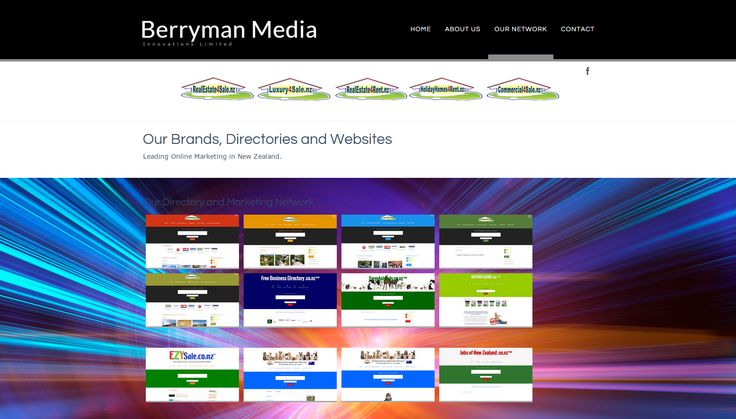 Berryman Media Innovations Limited - Leading New Zealand Online Media Company http://www.BerrymanMedia.nz