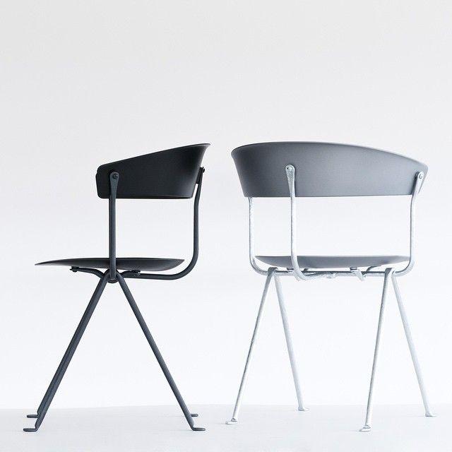 ronan erwan bouroullec 39 s new chair and stool via gu. Black Bedroom Furniture Sets. Home Design Ideas