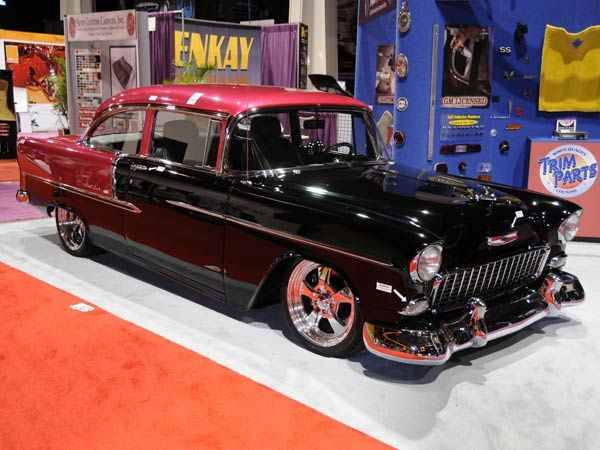 Sweet 55 Chevy Bel Air Sema Show 2008 Pinnacle