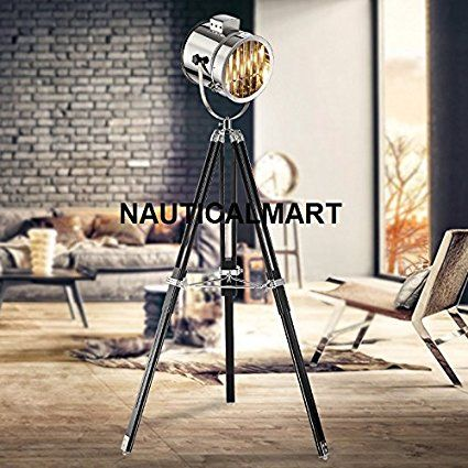 80 best INDUSTRIAL FLOOR LAMP SEARCHLIGHT\'S BY NAUTICALMART images ...