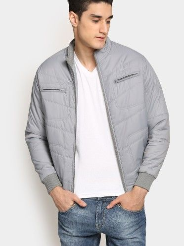 Team this jacket with a tee and a pair of denims for a casual day out. Add on a big buckle belt to accentuate the look.