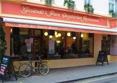 Hare Krishna Govinda restaurant in Soho 10 Soho St, London W1D 3DL 020 7437 4928