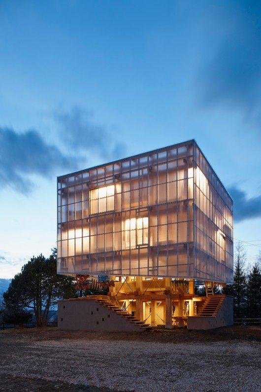 Nest We Grow / College of Environmental Design UC Berkeley + Kengo Kuma & Associates - via ArchDaily