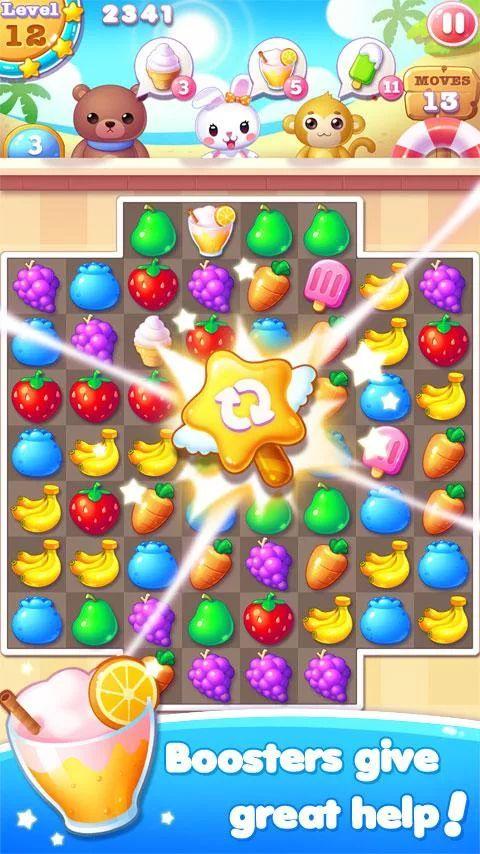 Fruit Bunny Mania– Capture d'écran