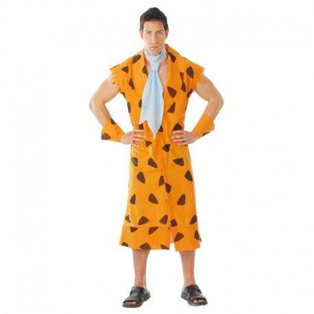Disfraces Personajes hombre | Disfraz de Pedro picapiedra. ¡Yabba Dabba Doo! Compuesto de túnica sin mangas puños y corbata estilo picapiedra. Talla M/L. 14,95€ #Picapiedra #PedroPicapiedra #disfrazpicapiedra #disfrazPedropicapiedra #disfraz #disfrazpersonaje #disfraces