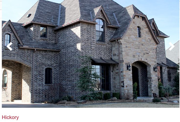 Hickory Trinity Brick Home Ideas In 2019 House Styles