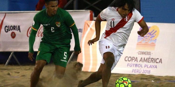 Perú perdió 8-7 con Bolivia en su primer partido de la Copa América de Fútbol Playa - Diario Depor