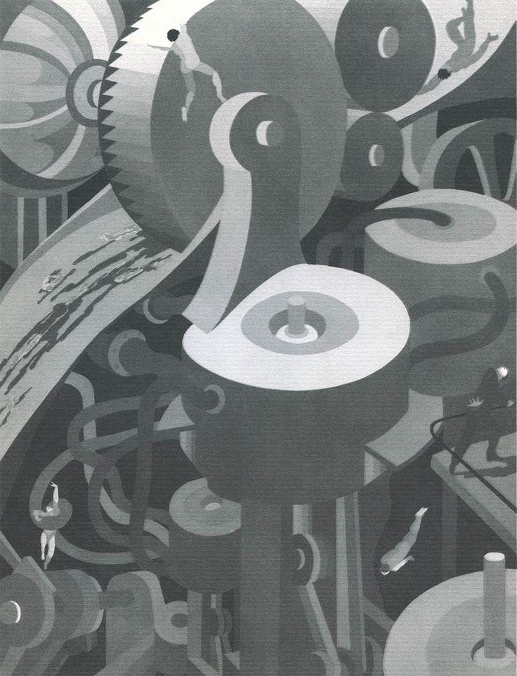 Mechanophobia – fear of machines John Vassos