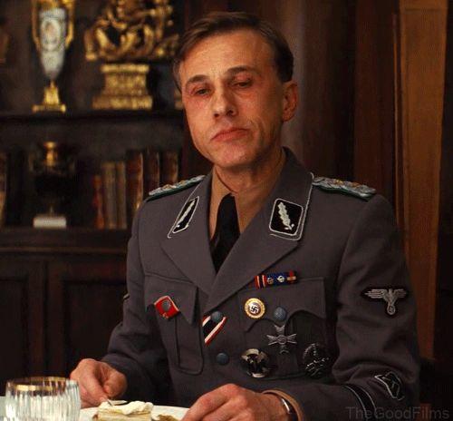 "SD Colonel Hans Landa, ""Jew Hunter"", Christoph Waltz, ""Inglourious Basterds"", Quintin Taratino 2009."