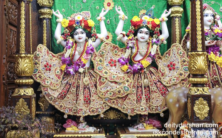 To view Nitai Gaurachandra Wallpaper of ISKCON Chowpatty in difference sizes visit - http://harekrishnawallpapers.com/sri-sri-nitai-gaurachandra-wallpaper-008/