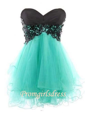 Little Sweetheart Strapless Homecoming Dress, Short Prom Dress,, Bridesmaid Dress, Party Dress on Etsy, $118.16 CAD