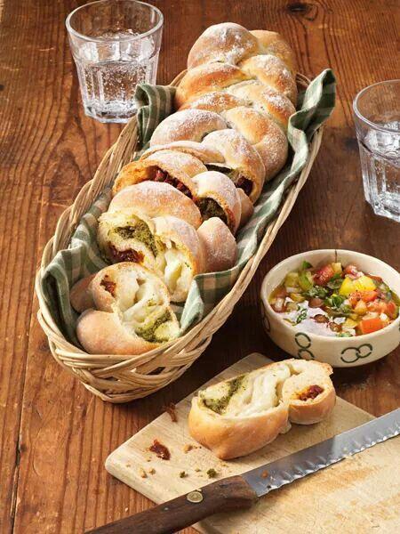 Lekker broodje voor bij de soep