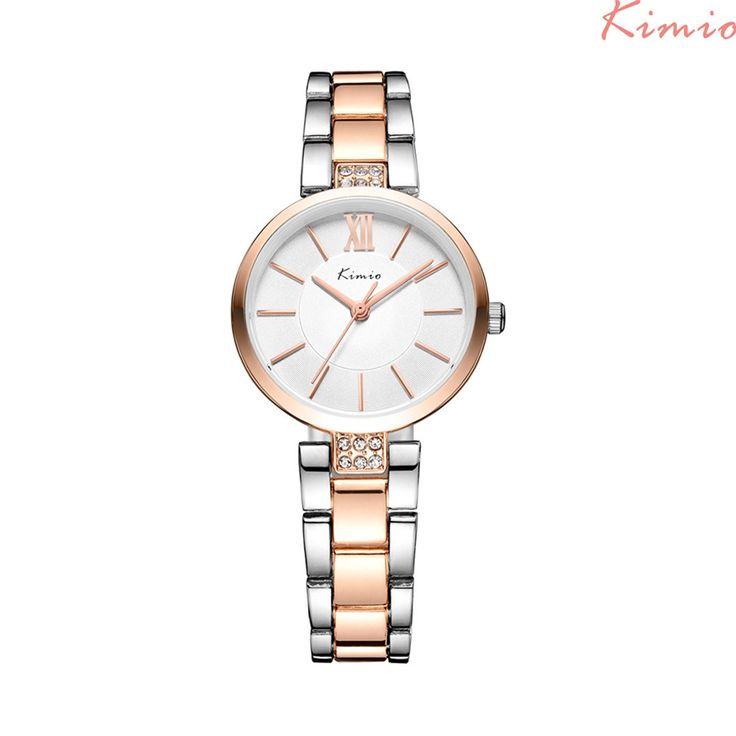 KIMIO Women's Watches Rhinestone Bracelet Watch Quartz Wristwatches Relogio Feminino TOP BRAND * Shop now for Xmas. Click the VISIT button for detailed description on  AliExpress.com. #nativityscene