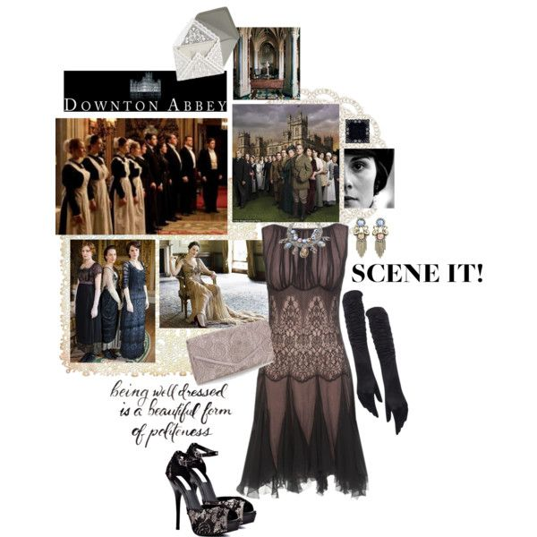 """Scene It: Downton Abbey"" by savvy-maven on Polyvore"