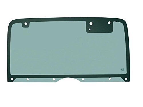 PPR Industries 30990190-95 Rear Glass Window Without Defrost For 1987-95 Jeep Wrangler Hardtop With 10 Holes  Non-Heated Back Glass for 87-95 Jeep Wrangler Hard Top, Green Tint, with Mounting Holes for Wiper Motor  Only fits Factory Jeep Hard Tops. Aftermarket toppers by Bestop, etc., take a different part  Same green solar tint (CLEAR) as the oem equivalent  Fitment guaranteed on the vehicles specified  High Quality Tempered Glass