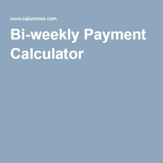 Best 25+ Bi weekly calculator ideas on Pinterest Sunset - net pay calculator