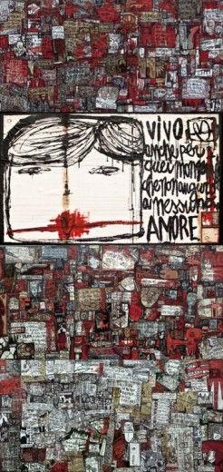"""Il nighclubbing è arte.  Tommaso Santucci per """"What is Clubbing"""" TENAX+IED"""