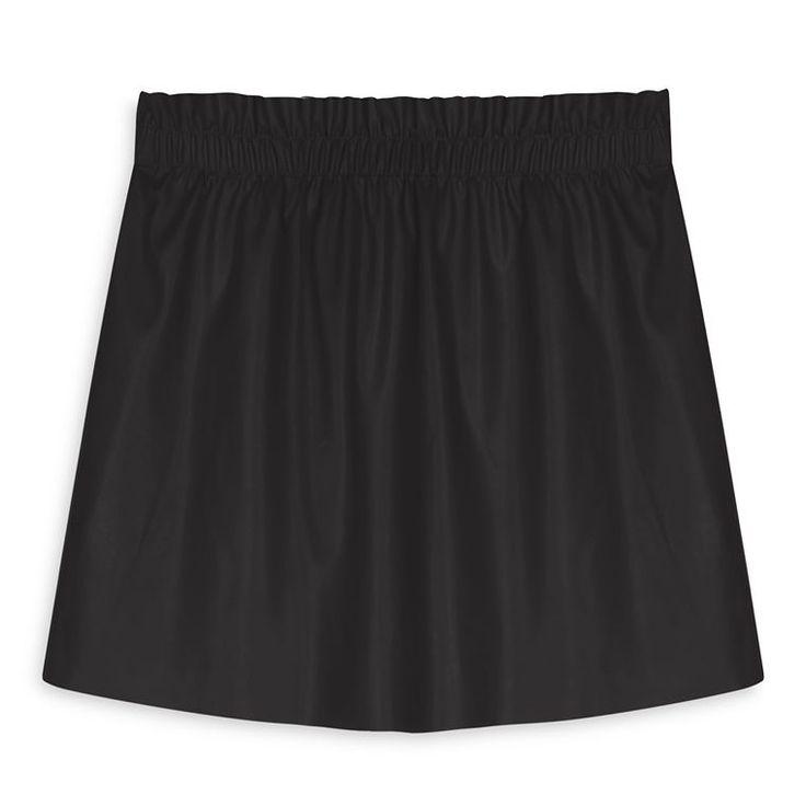 Falda negra con cintura fruncida  Categoría:#faldas #primark_mujer #ropa_de_mujer en #PRIMARK #PRIMANIA #primarkespaña  Más detalles en: http://ift.tt/2kPsz6V
