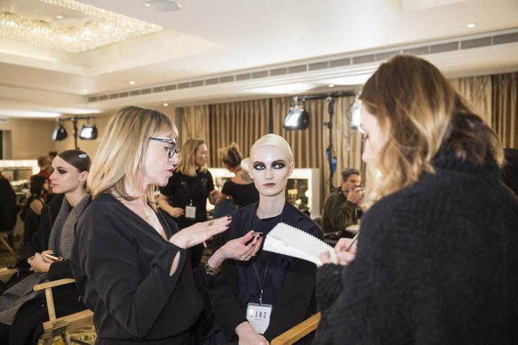 AW2016 DAKS LONDON WOMENS COLLECTION BACKSTAGE PHOTO