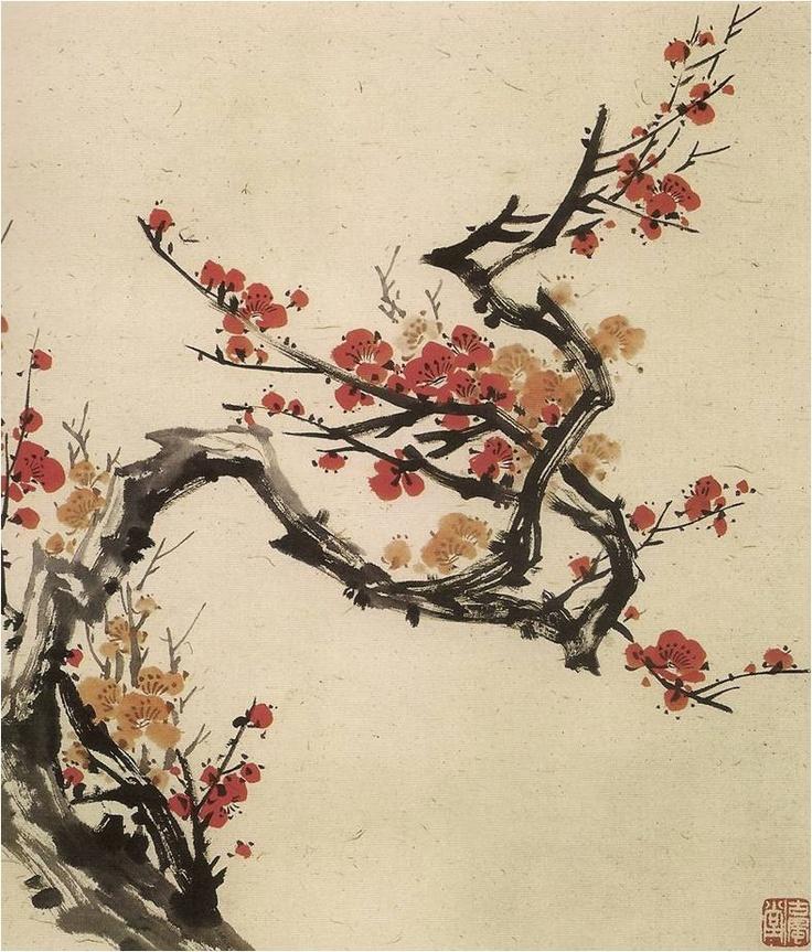 ALIAN LU: Pintura china para decorar