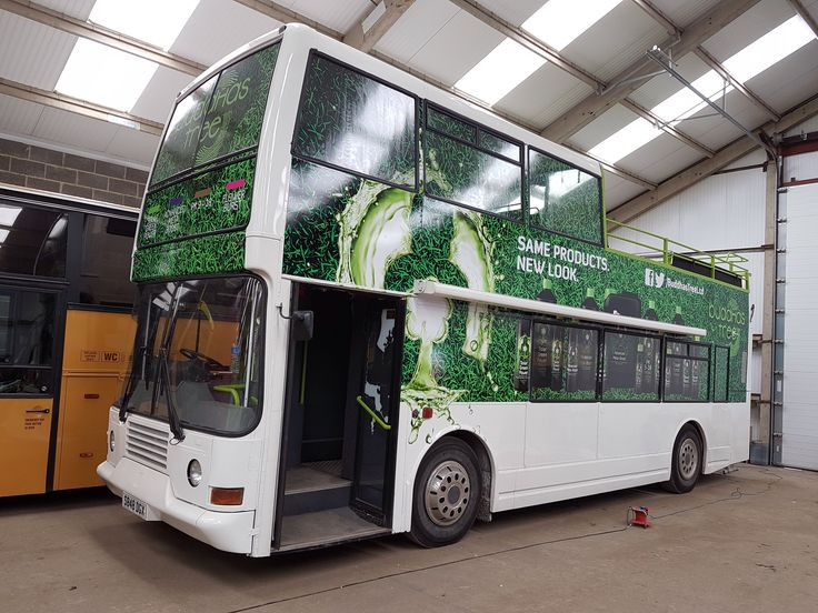 Bus wrapped #buddhastree