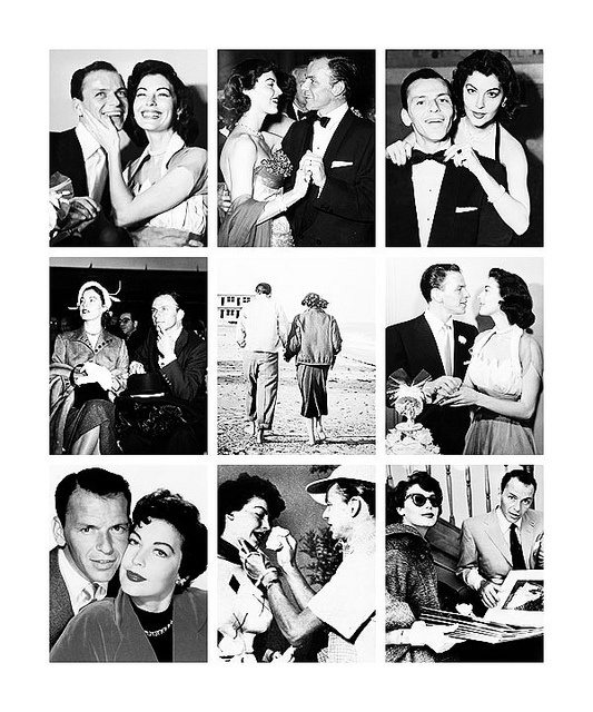 {great love stories № 11 | frank sinatra & ava gardner}