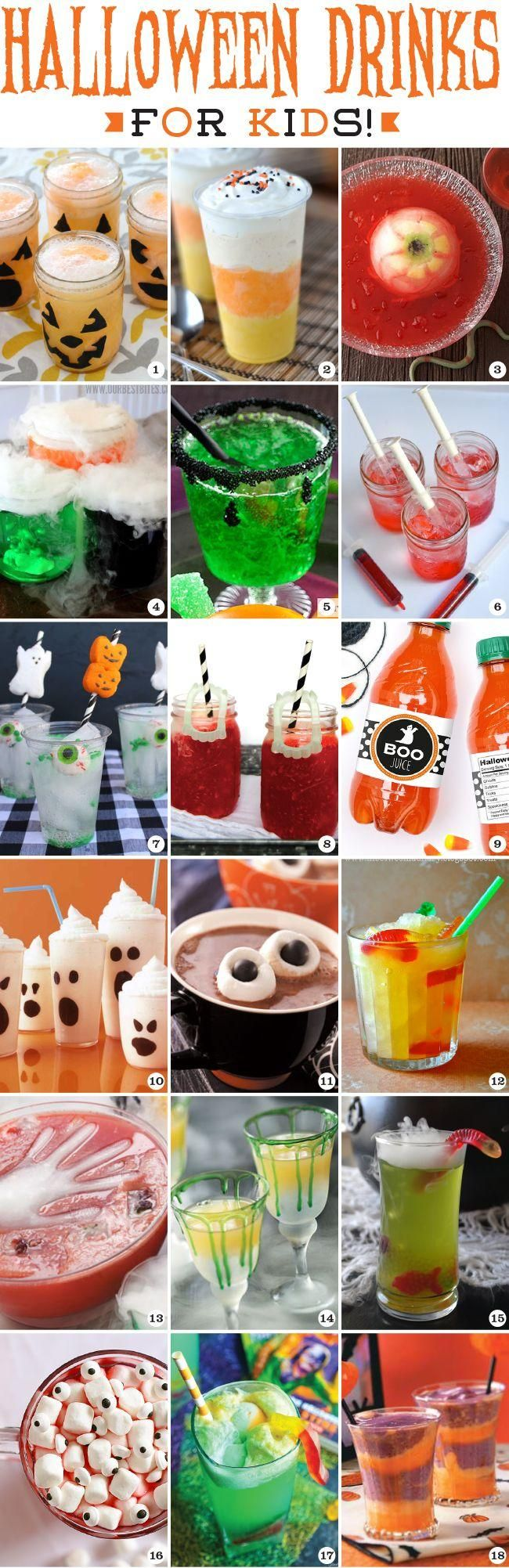 Halloween Drinks for Kids