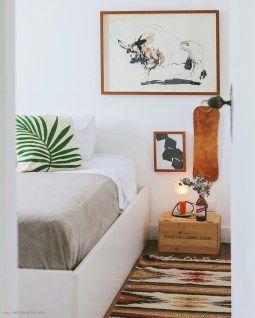 Decoração do quarto | Criado mudo na decoração | Mesa de cabeceira