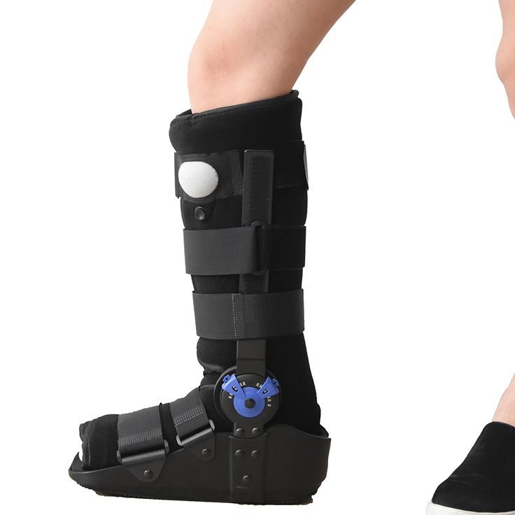 146.15$  Watch here  - ROM  Walking Boots Professional Medical Supplies and Equipment Orthopedic Supports for lower tibia and fibula fracture