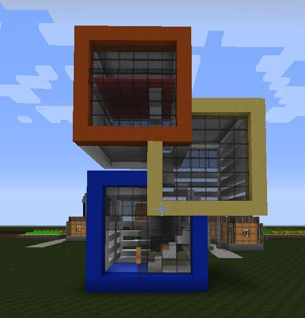 Quad2 By Alexaltariu Awesome Minecraft Houses Modern