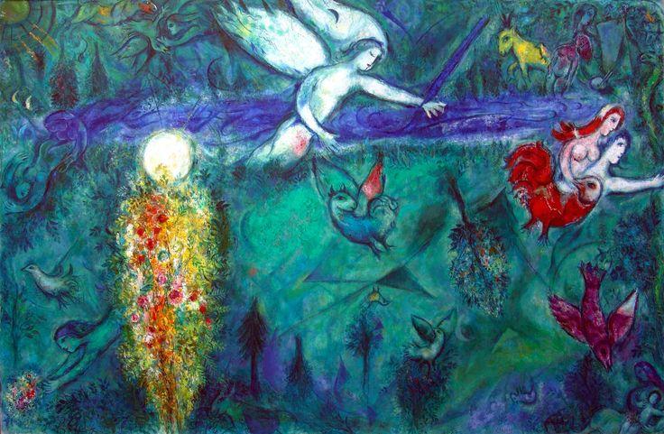 https://flic.kr/p/doRVxP | Marc Chagall, Nizza | Adamo ed Eva cacciati dal Paradiso. Musée National Message Biblique Marc Chagall, Nice, 1954-67 More photos: www.flickr.com/photos/mattiacam/sets/72157631881705946/wi...
