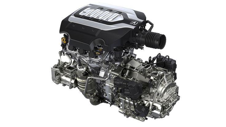 2018 Acura RLX Sport Hybrid - 3.5L V6 Engine with 7DCT