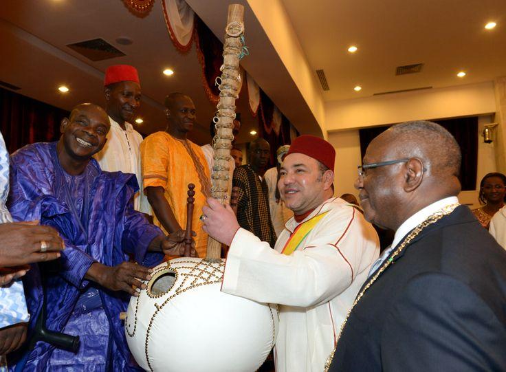 Le Président malien offre un dîner officiel en l'honneur de SM le Roi Mohammed VI