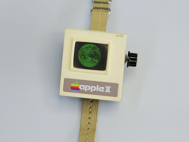 ((Apple II Watch Instructable)) Anachronistic Objects: Designing a Device that Never Was
