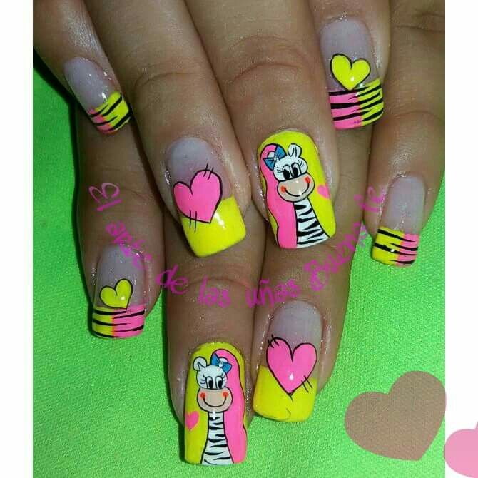 111 best UÑAS images on Pinterest | Arte de uñas, Clavos de trabajo ...