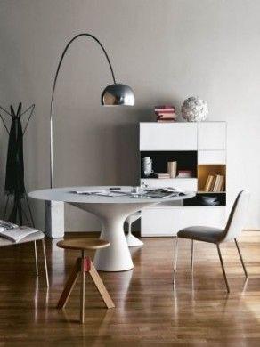 Zanotta: tavolo blanco