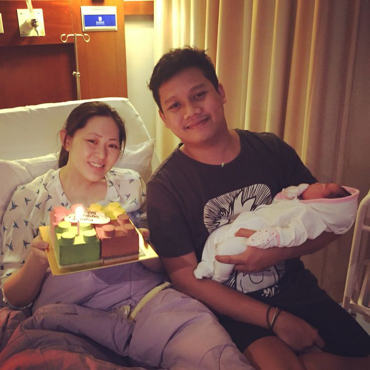 Happy bday my lovely wife and welcome My precious Audrey Elisheva Ramanta