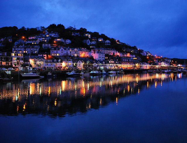 Looe in Cornwall, picturesque fishing town