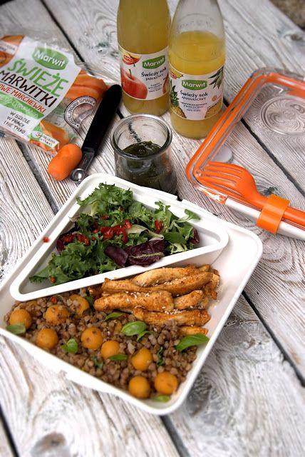 szczypta smaQ: Zdrowy lunch do pracy w stylu azjatyckim w 25 minu...