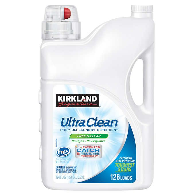 Kirkland Signature Ultra Clean Free Clear He Liquid Laundry
