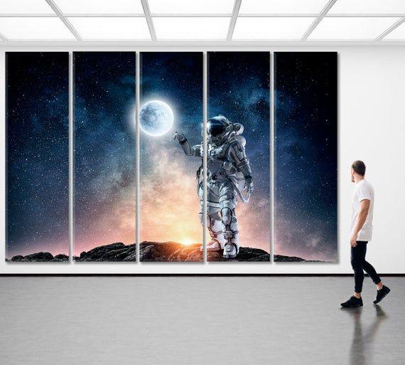 Nasa Wall Decor Space Art Universe Modern Art Astronomy Etsy Space Art Astronomy Poster Space Wall Art