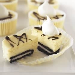 OREO Mini PHILLY Cheesecakes - Allrecipes.com