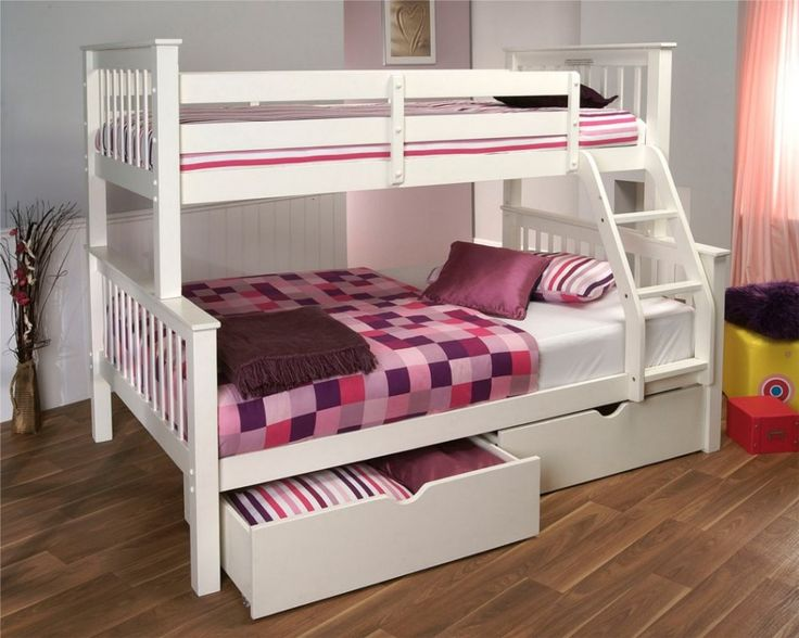 17 Best Images About Bunk Beds On Pinterest Triple Bunk Beds Ikea Bunk Bed And Girls Bedroom