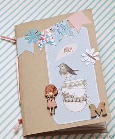 MIMOSORUM : Cómo hacer una Libreta casera - How to make a Handmade Notebook