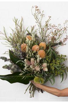 Pearsons Florist banksia native bush flowers rose hip